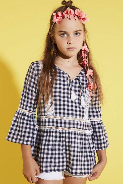 Купить Блуза, Gaudi, Разноцветный, Хлопок-100%, Женский