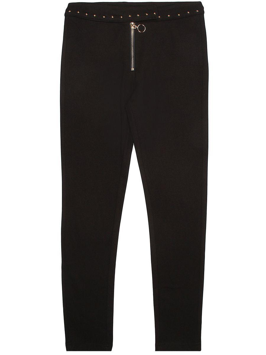 брюки y-clu' для девочки, черные