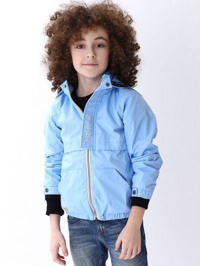 куртка mayoral для мальчика, голубая