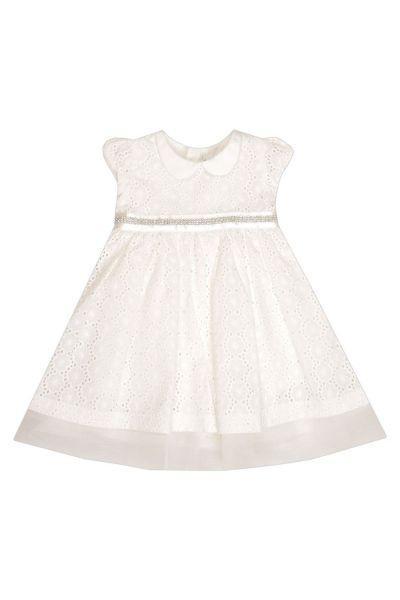 Купить Платье, Y-clu', Белый, Хлопок-94%, Эластан-6%, Женский