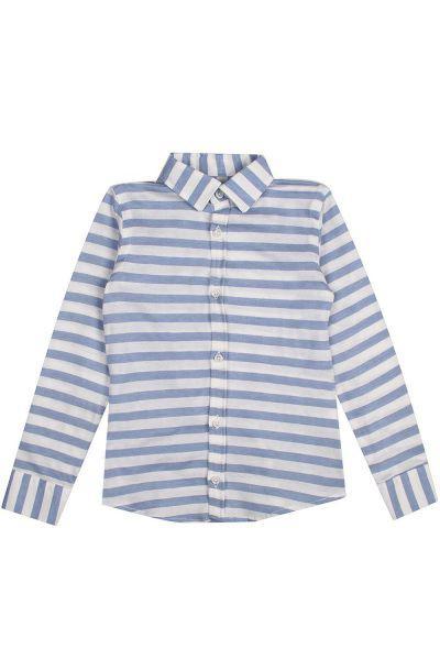 рубашка y-clu' для мальчика, голубая