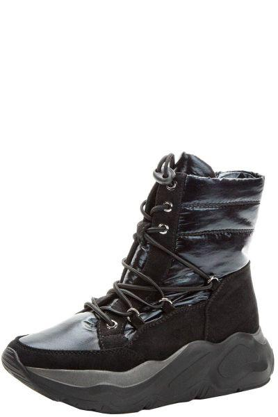 Купить Ботинки, Betsy, Черный, Нейлон/Искусственная замша-100%, Женский