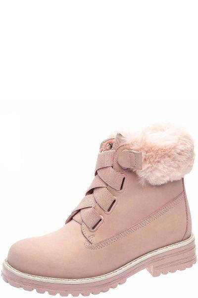 Купить Ботинки, Keddo, Розовый, Искусственный нубук-100%, Женский