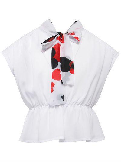 Купить Блуза, Y-clu', Разноцветный, Хлопок-93%, Эластан-7%, Женский