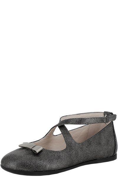 туфли mayoral для девочки, серые