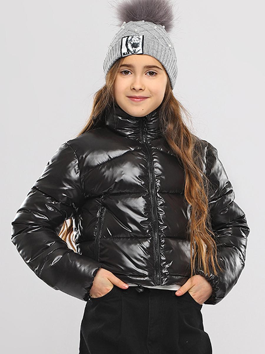 Куртка, Gaialuna, Черный, Нейлон-100%, Женский  - купить со скидкой