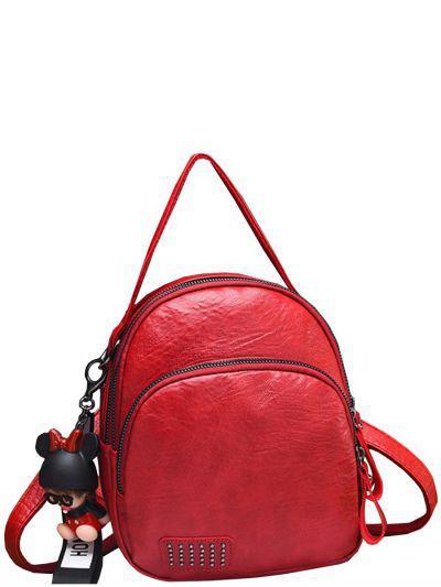 Купить Рюкзак, Multibrand, Красный, UNI, Искусственная кожа-100%, Мужской