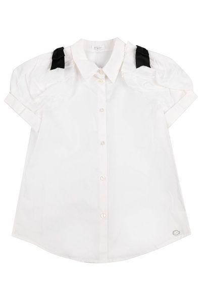 блузка byblos для девочки, белая