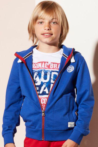 толстовка gaudi для мальчика, синяя