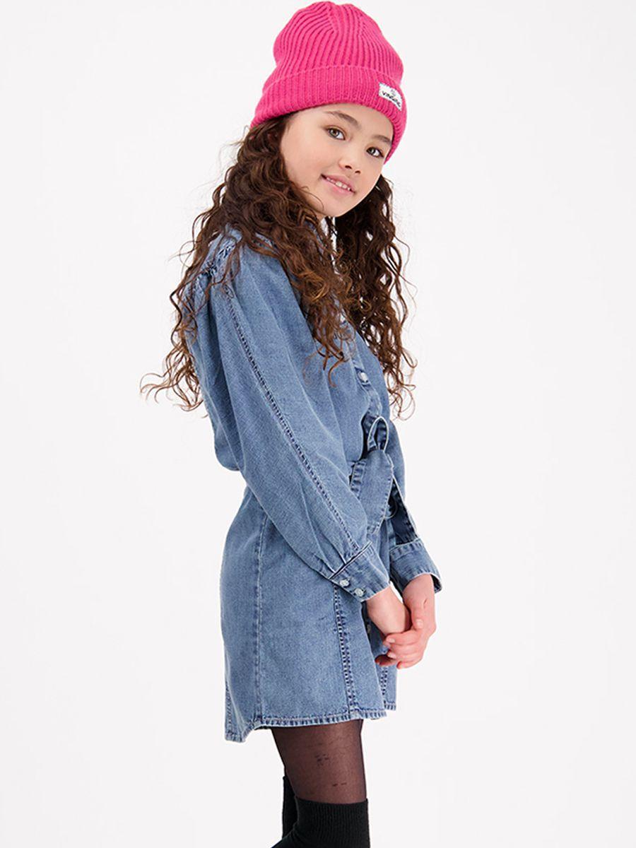 платье vingino для девочки, синее