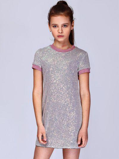 Платье, Noble People, Серый, Полиэстер-100%, Женский  - купить со скидкой