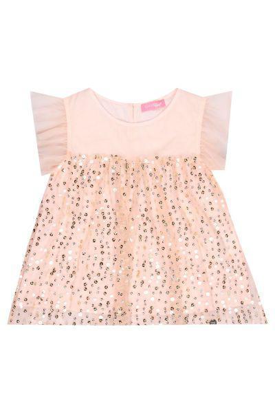 блузка gaudi для девочки, розовая