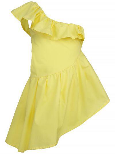 платье gaialuna для девочки, желтое