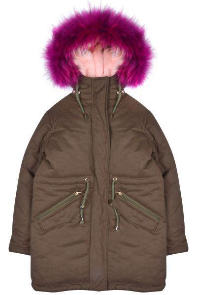 Купить Куртка, Les Trois Vallees, Зеленый, Хлопок-52%, Полиэстер-40%, Нейлон-8%, Женский