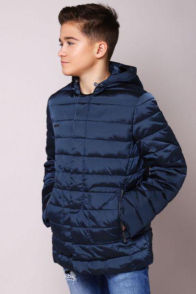 куртка silver spoon для мальчика, синяя