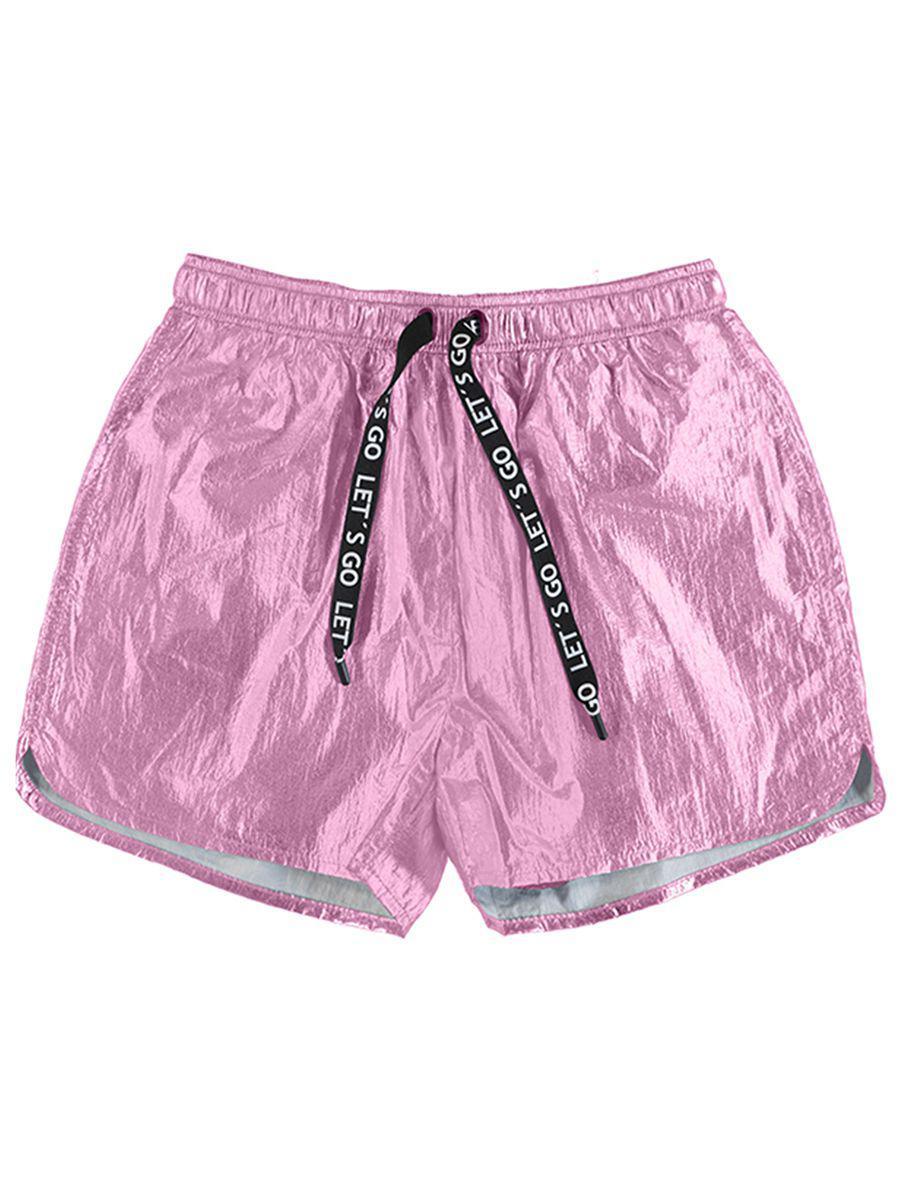 шорты mayoral для девочки, розовые