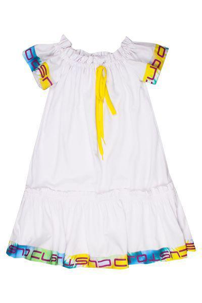 Купить Платье, Custo Barcelona, Белый, Полиэстер-100%, Женский