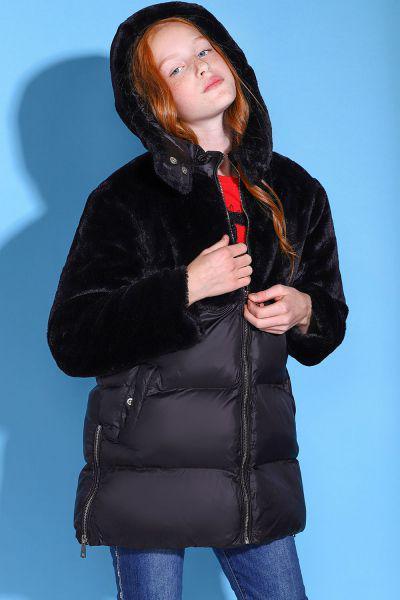 Купить Куртка, To Be Too, Черный, Полиамид-100%, Женский