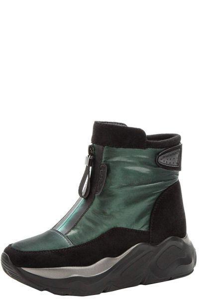 Купить Ботинки, Betsy, Зеленый, Нейлон/Искусственная замша-100%, Женский
