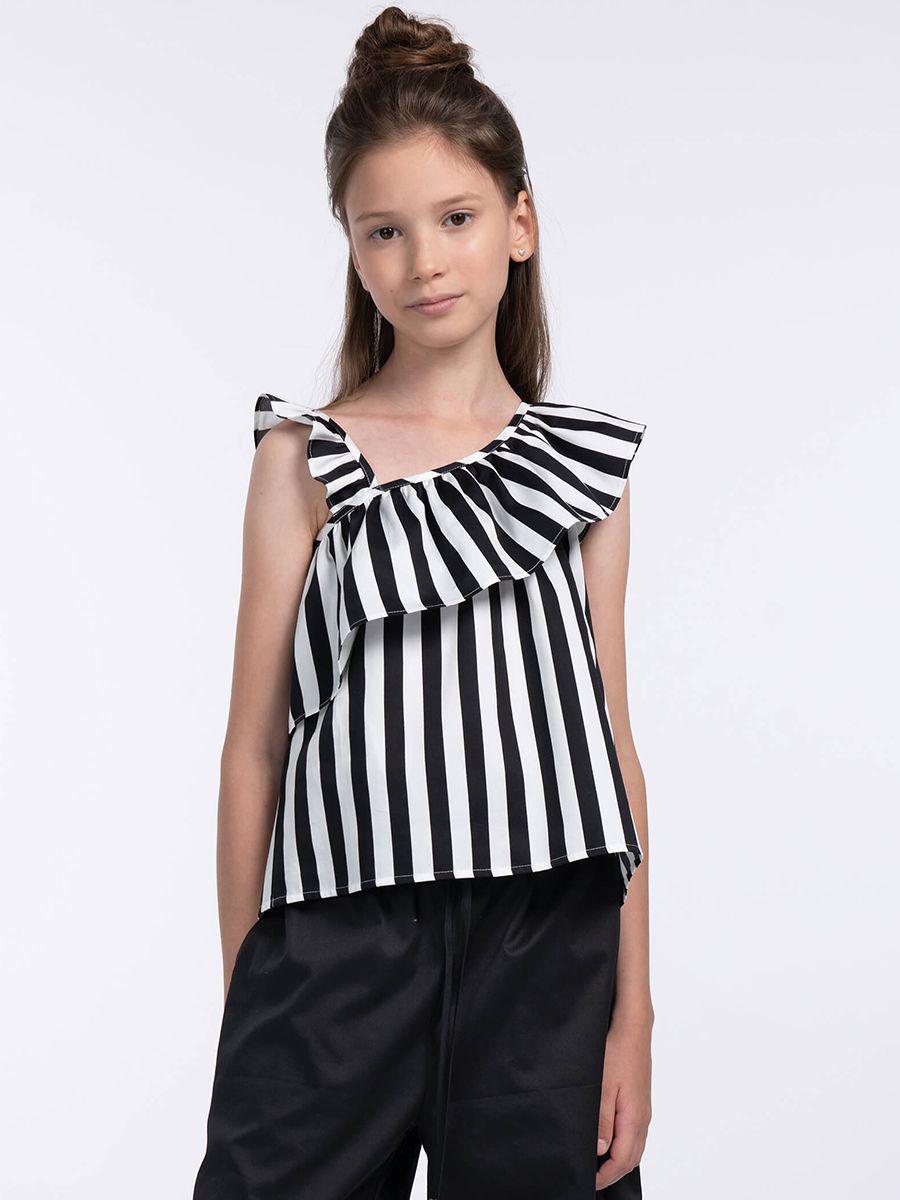 блузка смена для девочки, черная