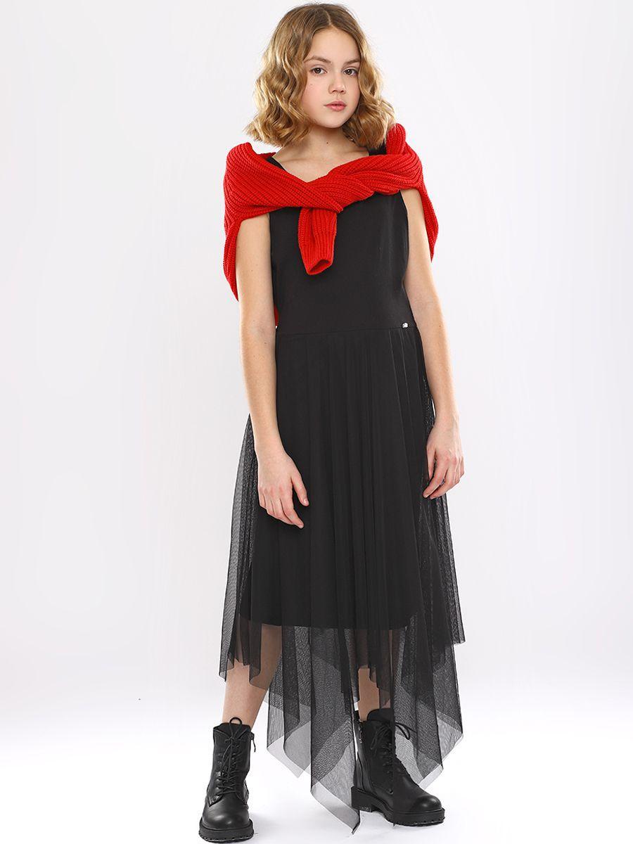 платье noble people для девочки, черное