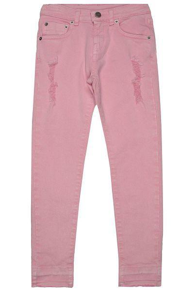 брюки gaudi для девочки, розовые
