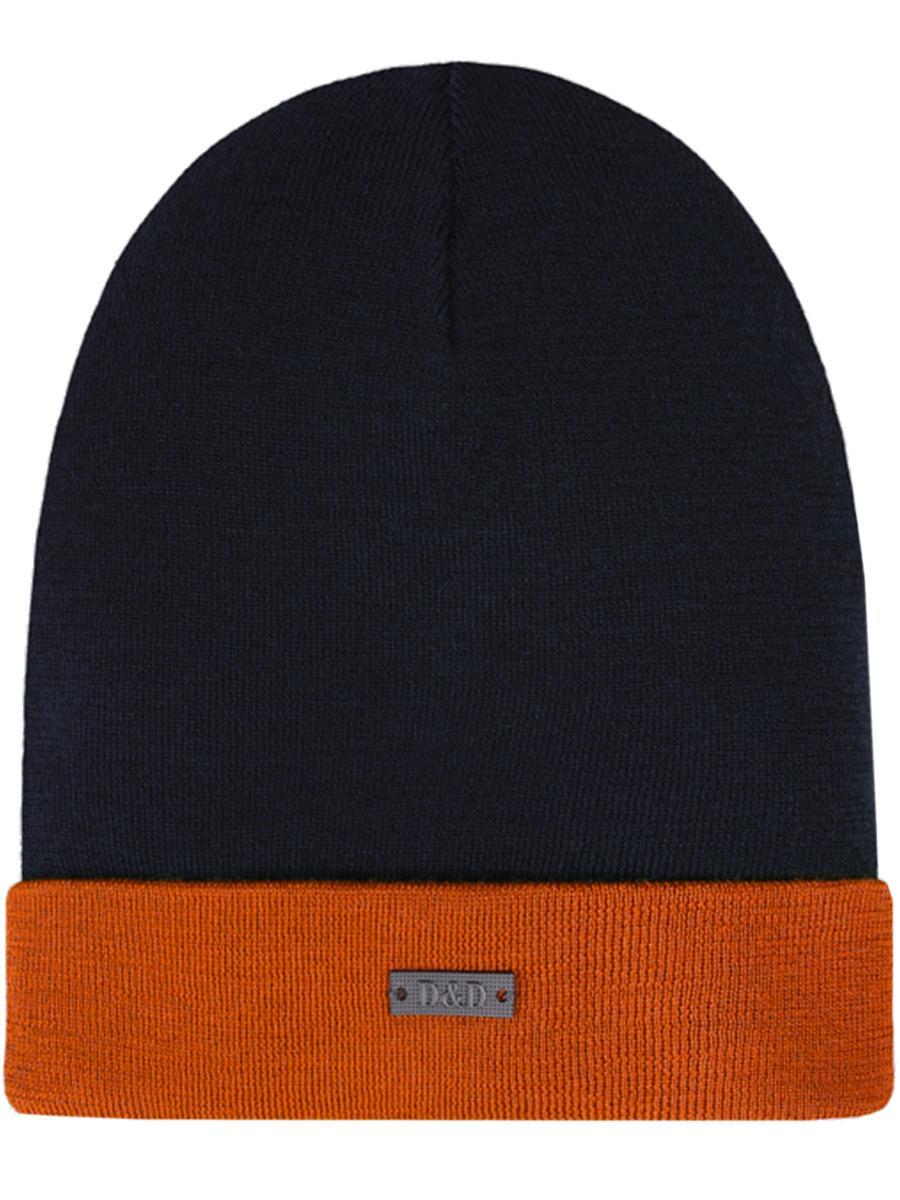шапка dan&dani для мальчика, синяя