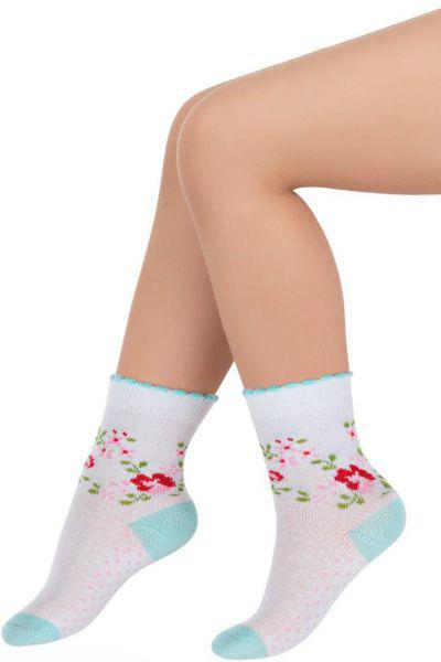 Носки для девочки SBBK-14117 белый Charmante, Китай (КНР)