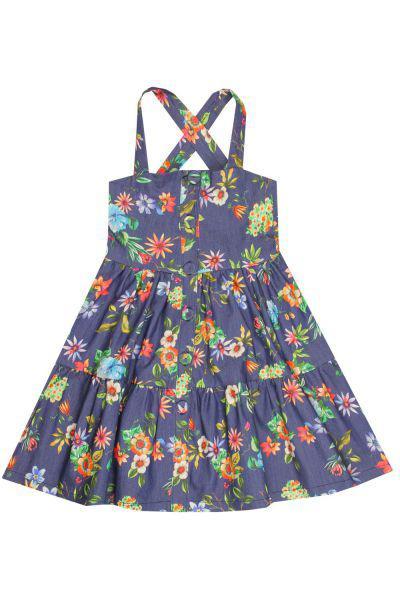 Купить Платье, Y-clu', Синий, Хлопок-97%, Эластан-3%, Женский