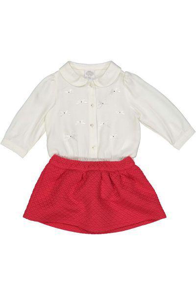 Блуза-боди+юбка
