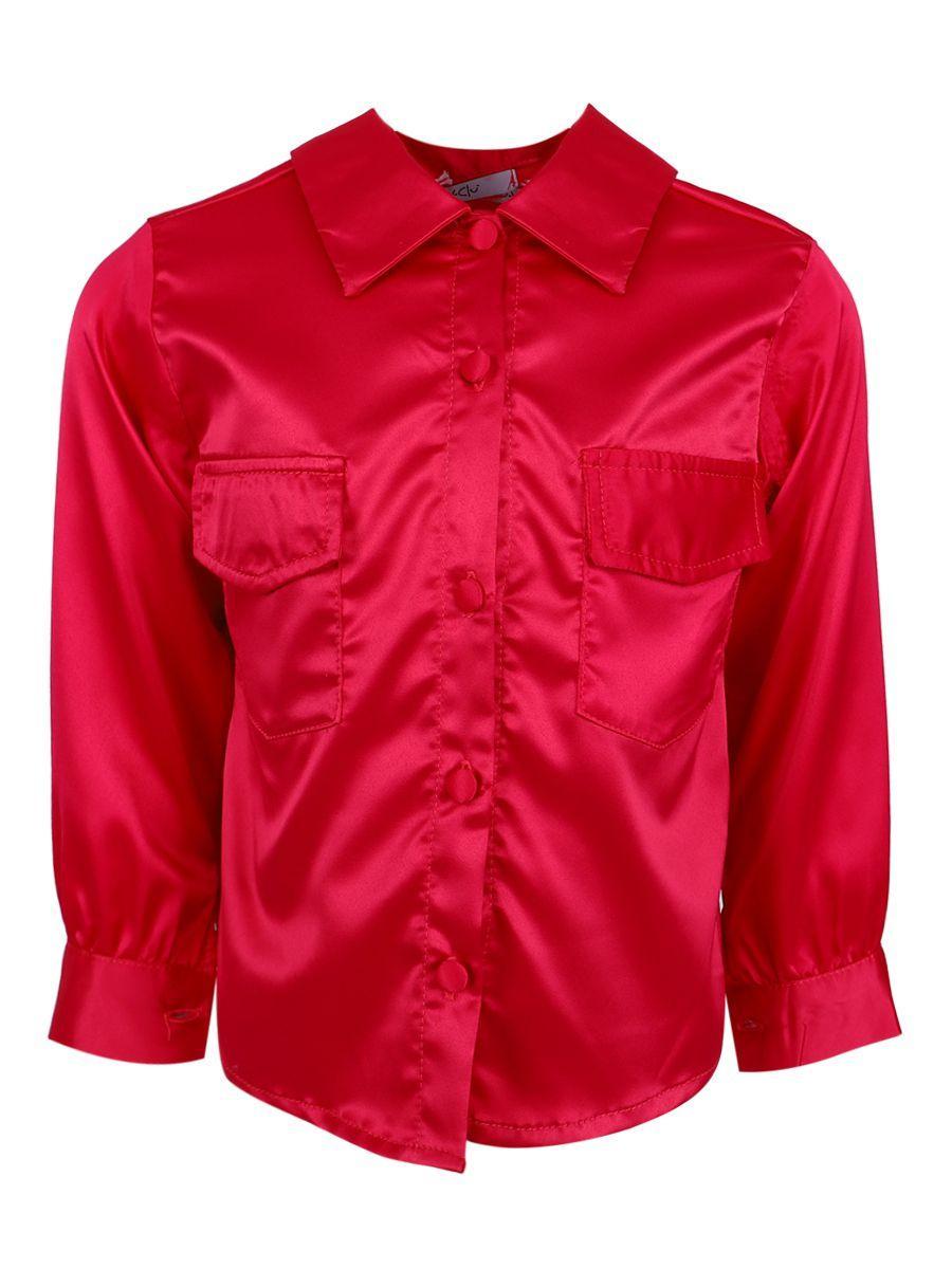 рубашка y-clu' для девочки, розовая