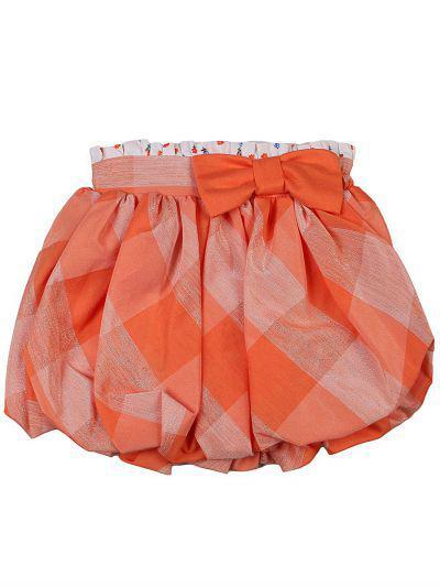 юбка y-clu' для девочки, оранжевая