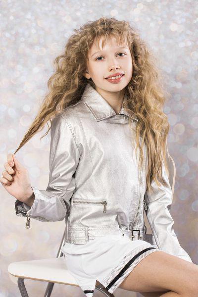 Купить Куртка, To Be Too, Серый, Полиуретан-100%, Женский