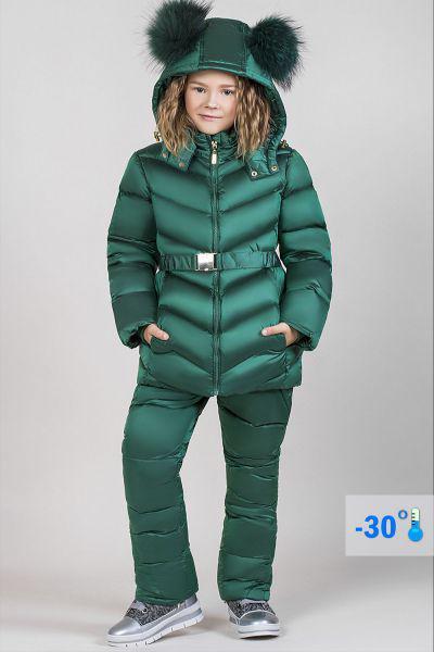 Купить Куртка+полукомбинезон, Noble People, Зеленый, Полиэстер-100%, Женский