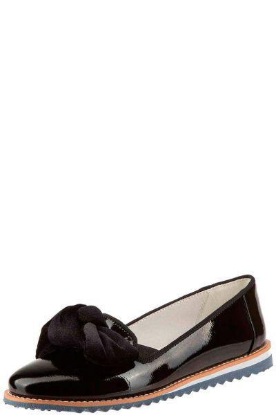 Купить Туфли, Betsy, Черный, Искуственная лаковая кожа-100%, Женский