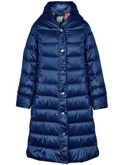 пальто silver spoon для девочки, синее