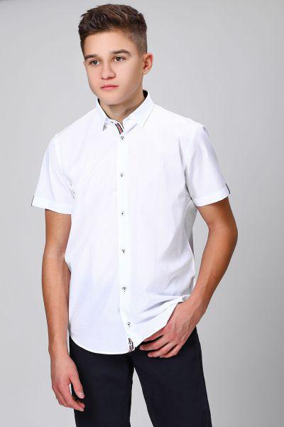 Купить Рубашка, Noble People, Белый, Хлопок-80%, Полиэстер-20%, Мужской