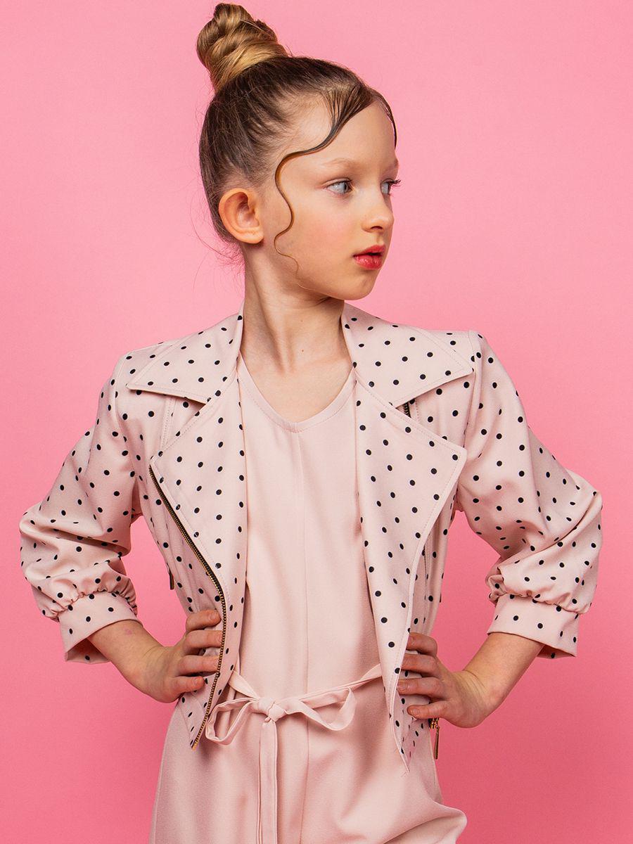 жакет y-clu' для девочки, розовый