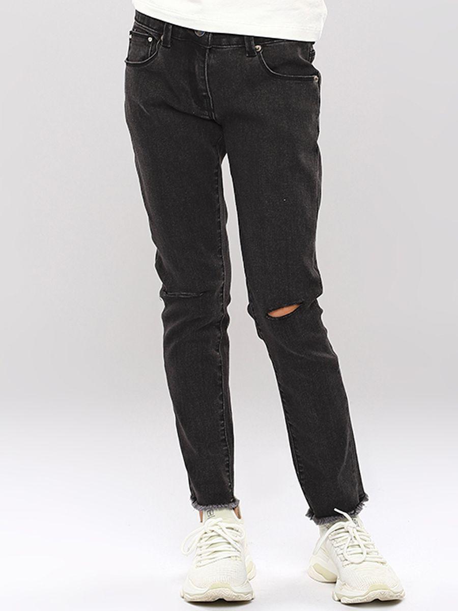 джинсы gaialuna для девочки, черные