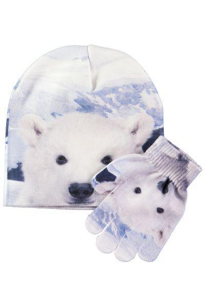 Купить Шапка+перчатки, Molo