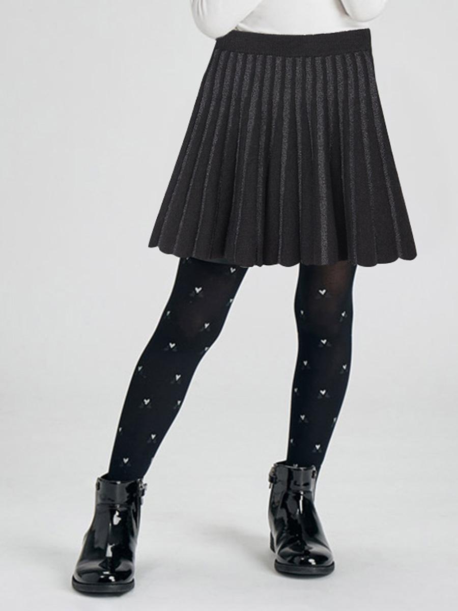 юбка mayoral для девочки, черная