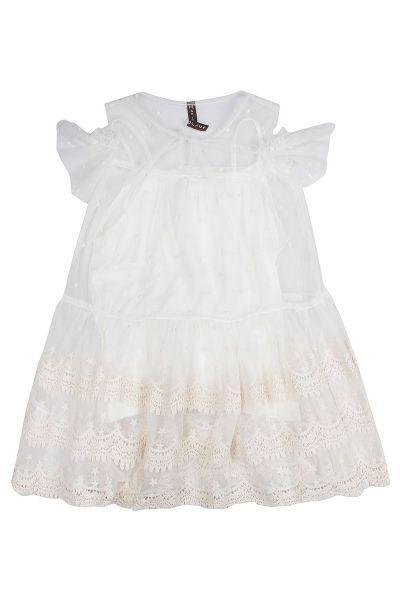 Купить Платье, Manila Grace, Бежевый, Полиэстер-100%, Женский