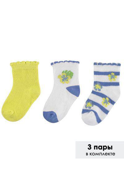 Купить Носки, Mayoral, Разноцветный, Хлопок-74%, Полиэстер-23%, Эластан-3%, Женский