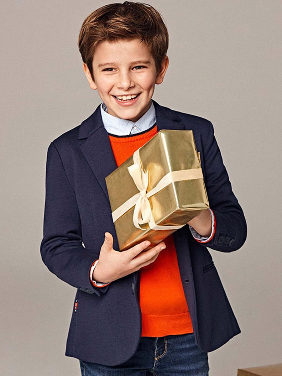 пиджак mayoral для мальчика, синий