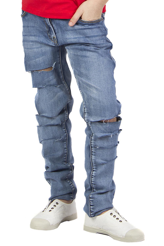 джинсы y-clu' для девочки, голубые