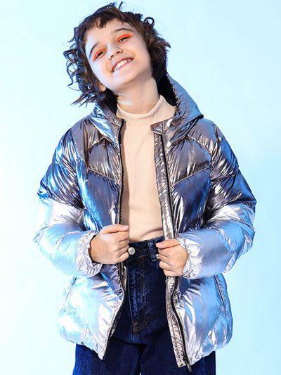 Купить Куртка, Y-clu', Серый, Полиэстер-100%, Женский