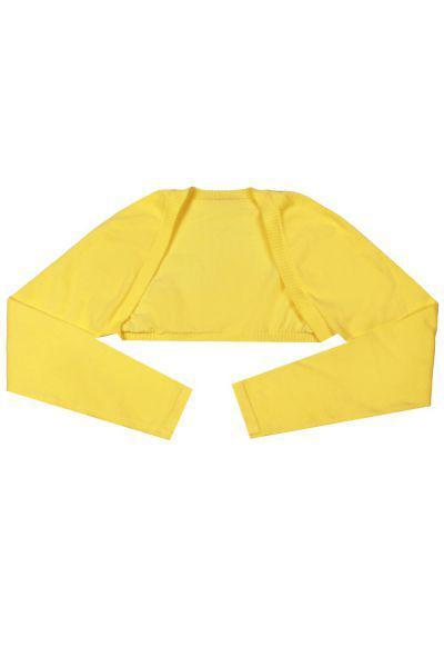 Купить Болеро, Y-clu', Желтый, Хлопок-100%, Женский