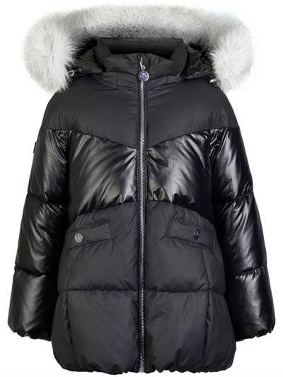 Купить Куртка, Pulka, Черный, Нейлон-100%, Женский