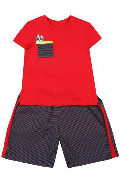 Купить Футболка+шорты, Noble People, Красный, Мужской