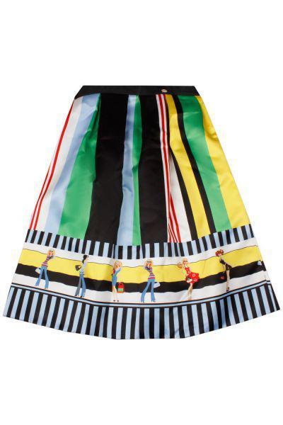 Юбка, Byblos, Разноцветный, Полиэстер-100%, Женский  - купить со скидкой